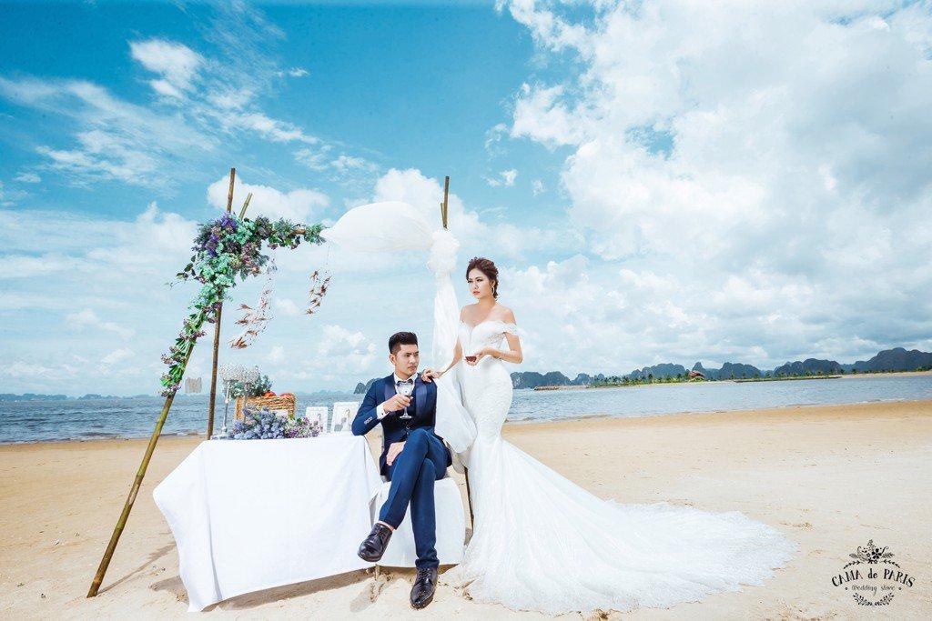chụp ảnh cưới ở tuần châu