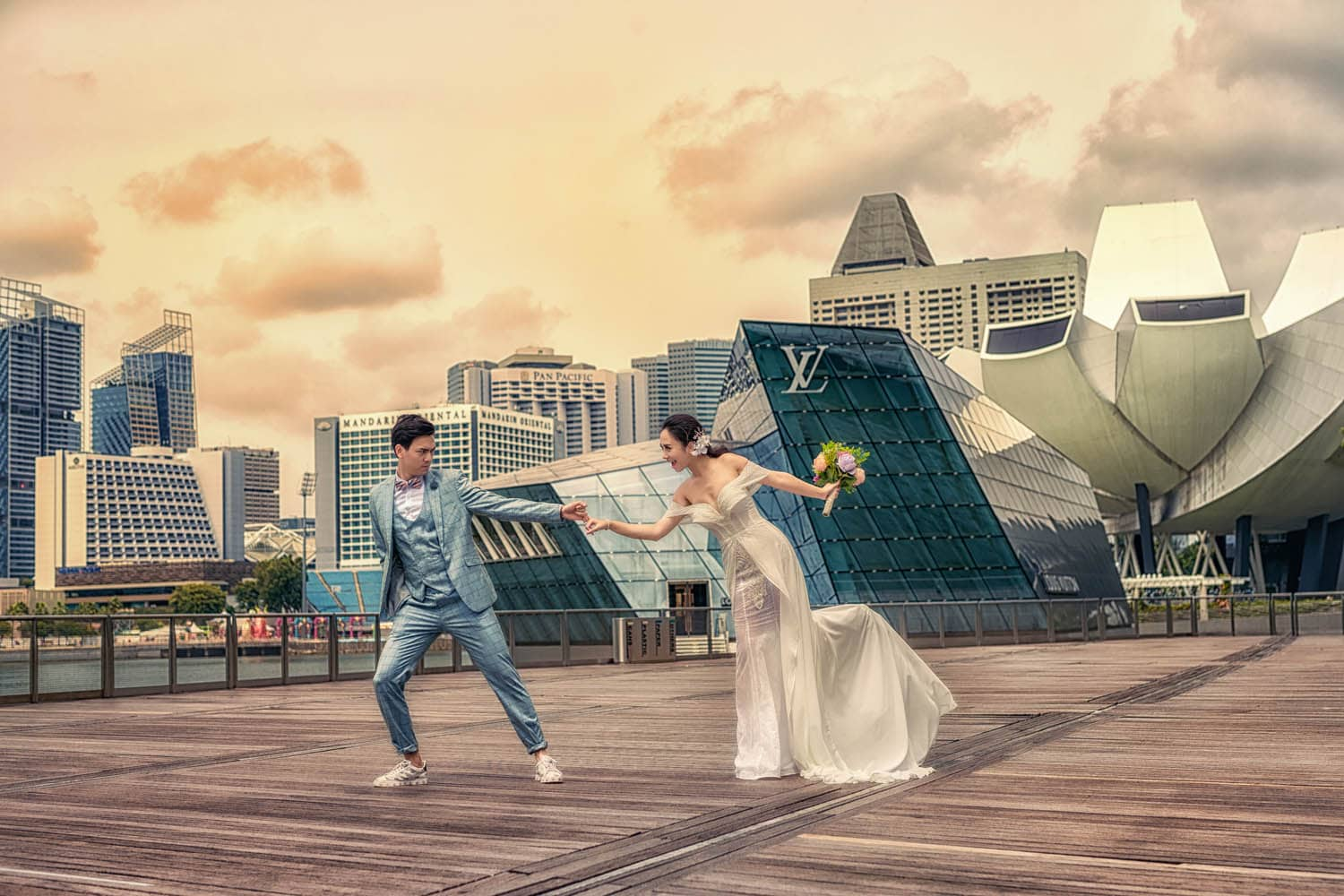 chup anh cuoi singapore