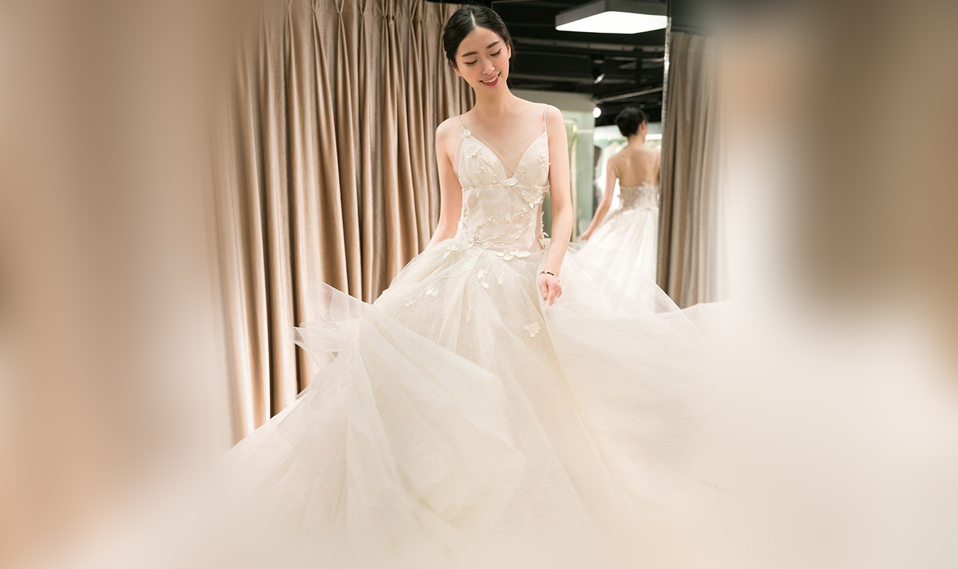 Những lưu ý khi chọn địa chỉ mua váy cưới ở Sài Gòn